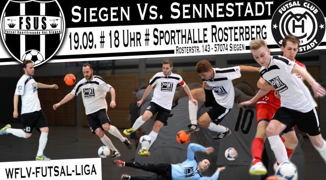 3. Spieltag der WFLV-Futsal-Liga 2015/2016