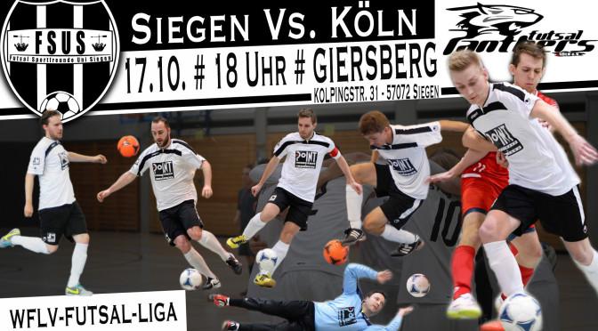 Heimspieltag: Siegen Vs. Köln